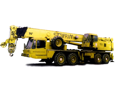 Grue mobile 70T Tunisie